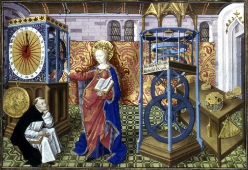 L'Horloge de Sapience (the Clock of Wisdom) from about 1450